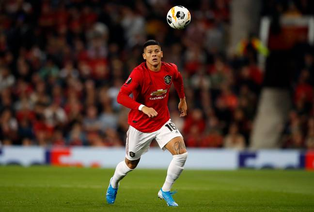 Rojo in action last night (Image Credit: PA)