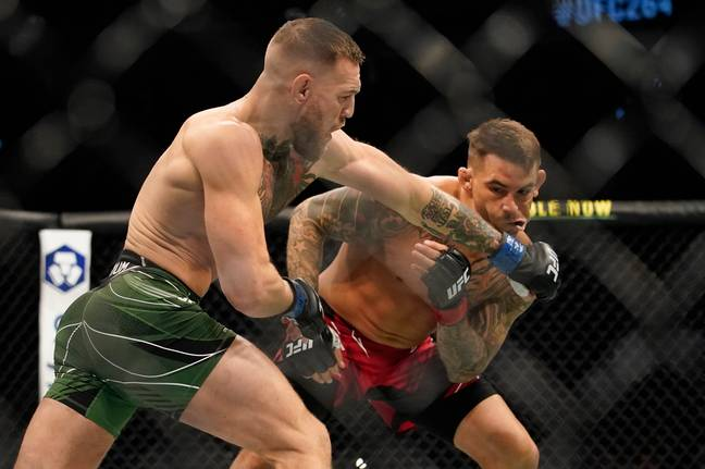 McGregor landed some good shots in the first round. Image: PA Images