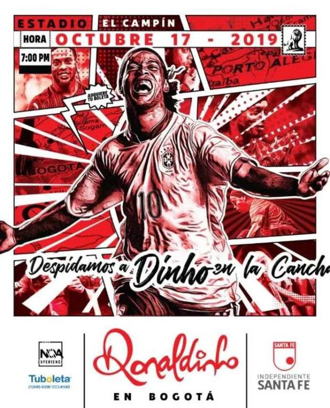 The poster for the game. Image: Sante Fe