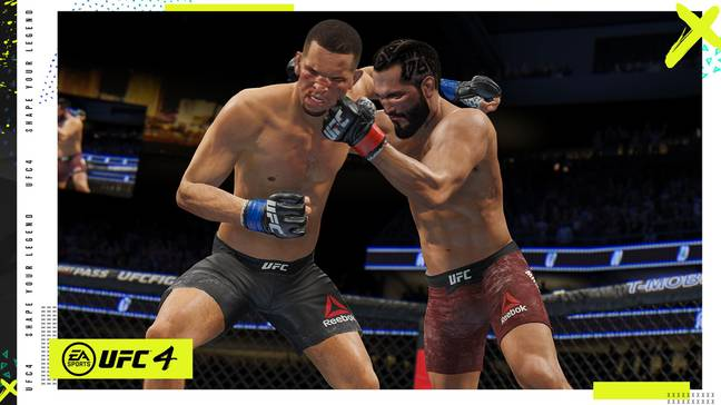 Images: EA Sports UFC 4