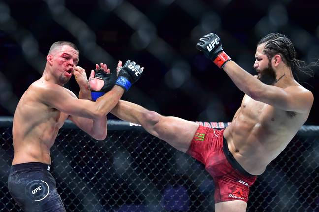 Masvidal and Diaz went to war at UFC 244. Image: PA Images
