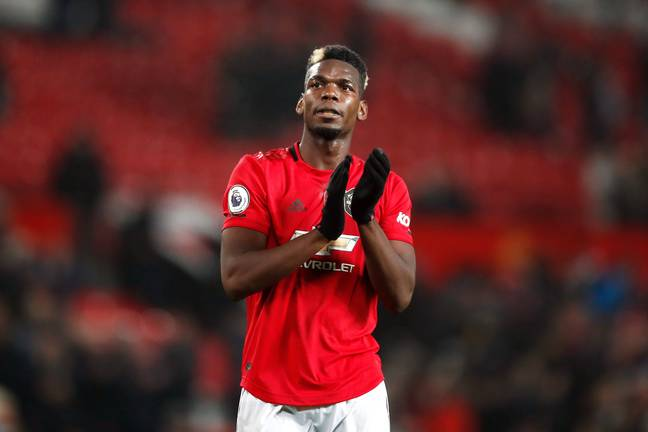 Paul Pogba counts as a homegrown player, despite being French, by having moved to Manchester United at a young age. Image: PA Images