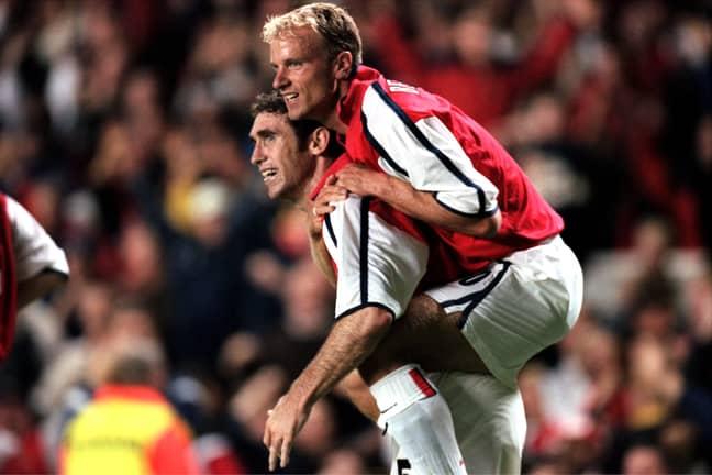 Martin Keown & Dennis Bergkamp