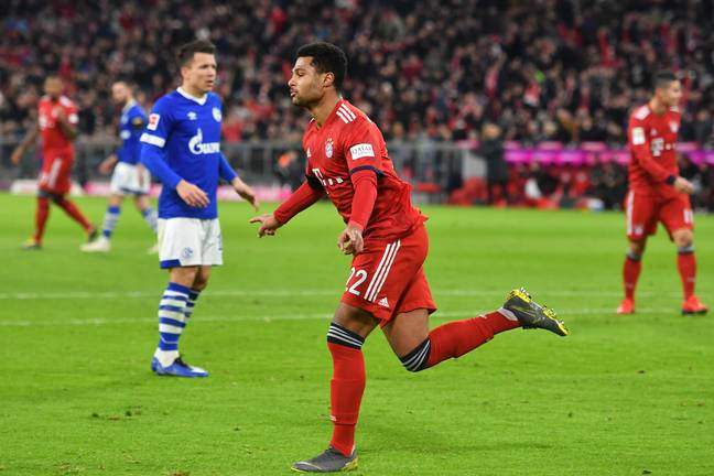 Gnabry has become a first team player at Bayern. Image: PA Images