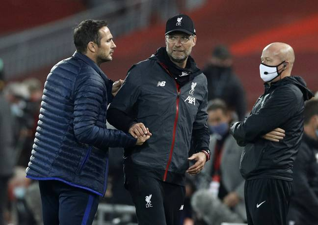 Lampard wasn't happy at all. Image: PA Images