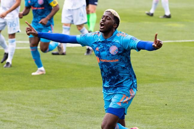 Gyasi Zardes is with the USA team for the Gold Cup which starts for them on Monday. Image: PA Images