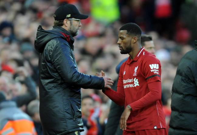 Wijnaldum looks set to stay at Liverpool. Image: PA Images