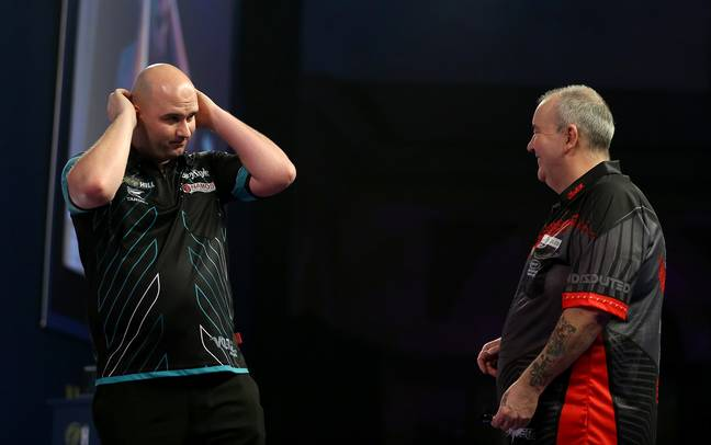 Rob Cross can't believe beating Taylor in the 'Power's' final ever match. Image: PA Images