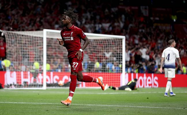 Origi was a hero once again. Image: PA Images