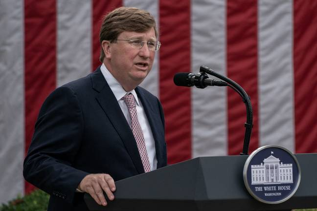 Mississippi Governor Tate Reeves. Credit: PA