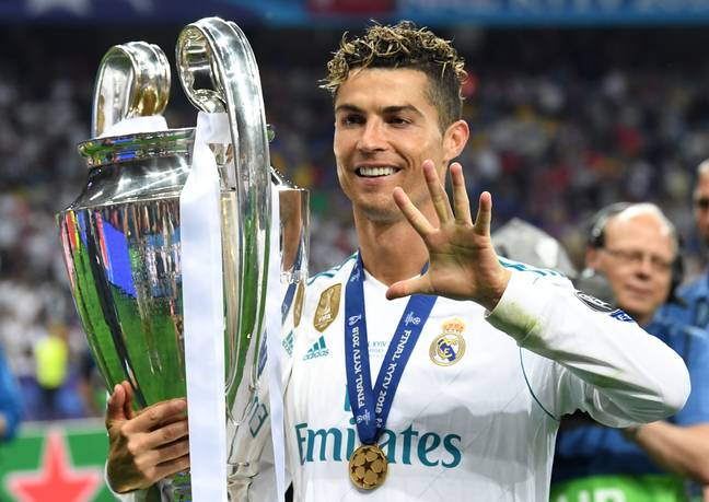 The Portuguese superstar has won pretty much everything there is to win in club football - including the Champions League five times