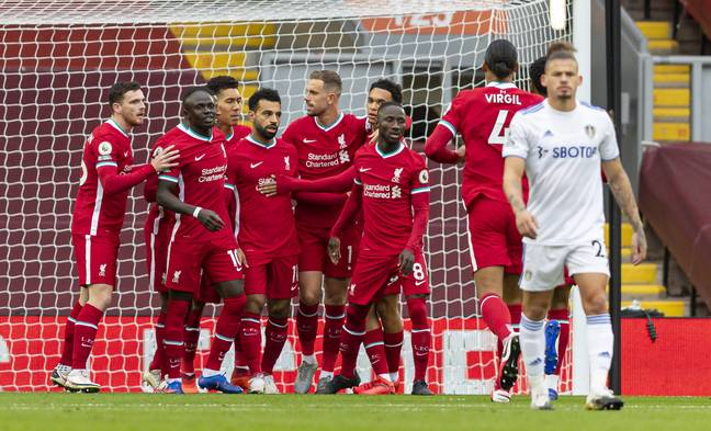 Salah's late penalty earned Liverpool a win. Image: PA Images