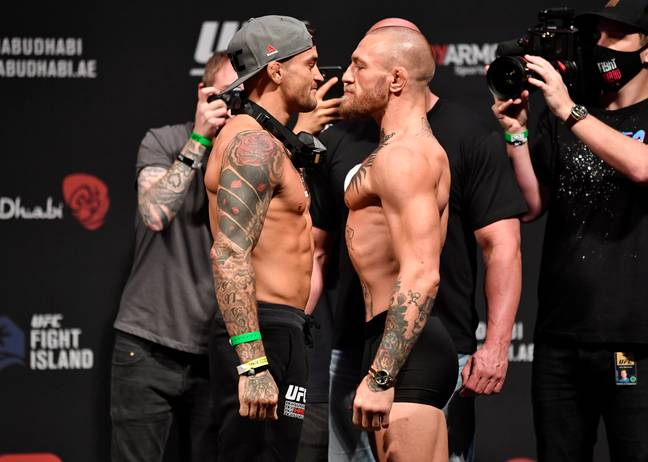 McGregor vs Poirier attracted loads of interest. Image: PA Images