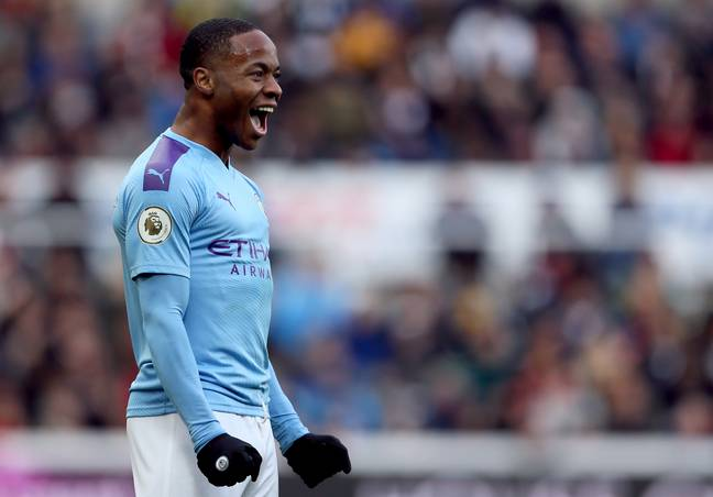 Sterling has become just as iconic off the pitch as on it for fighting against racism. Image: PA Images