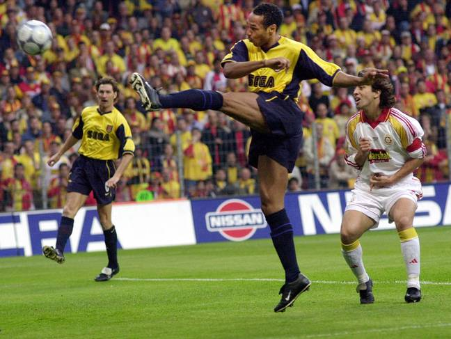 Henry was a brilliant striker. Image: PA Images