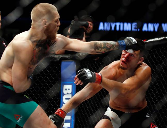 McGregor and Diaz. Image: PA Images