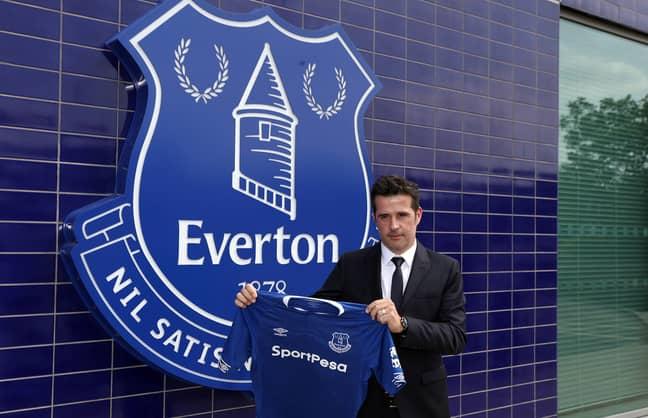 Everton's new boss. Image: PA
