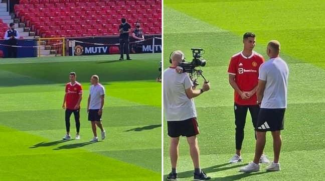 Ronaldo at Old Trafford