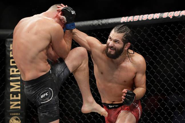 Jorge Masvidal is currently the BMF champion. (Image Credit: PA)