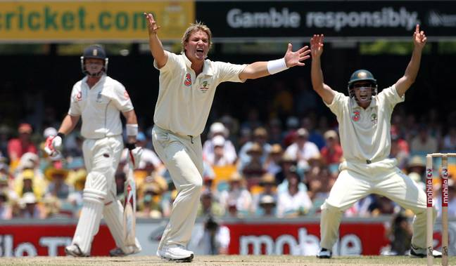 Warne is a fan favourite among Aussie supporters. Credit: PA