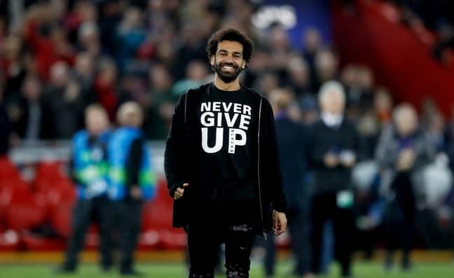 Salah knew! Image: PA Images