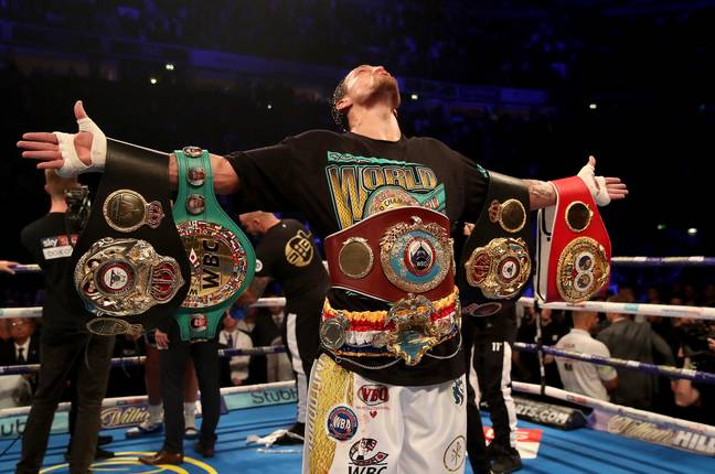 Usyk's win over Bellew earned him all the gold. Image: PA Images