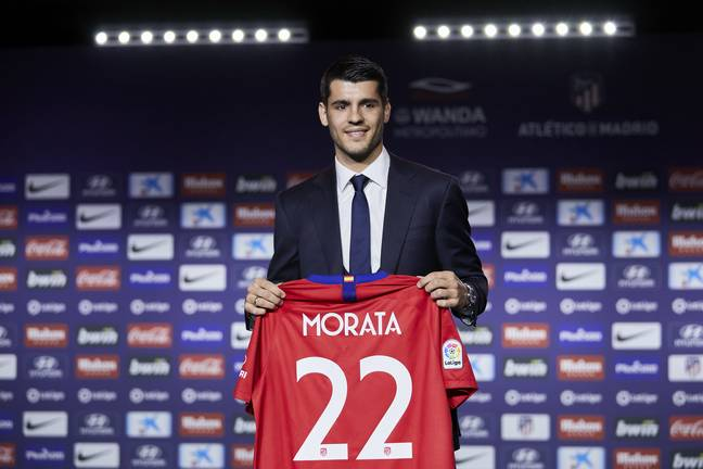Morata has moved to Atletico Madrid. Image: PA Images