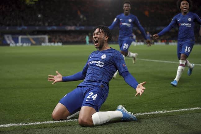 Reece James scored Chelsea's equaliser. (Image Credit: PA)