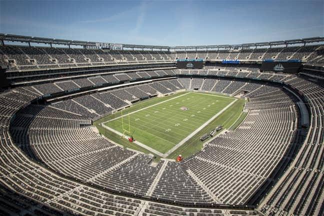 Could the Metlife Stadium host the Champions League final? Image: MetlifeStadium.com
