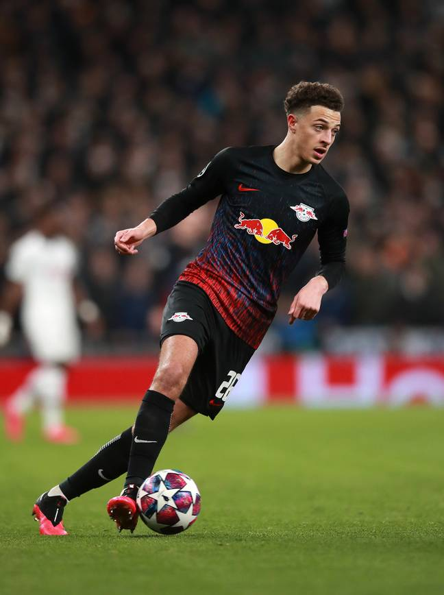 Teenager Ethan Ampadu is out on loan with Bundesliga high-flyers RB Leipzig. (Image Credit: PA)
