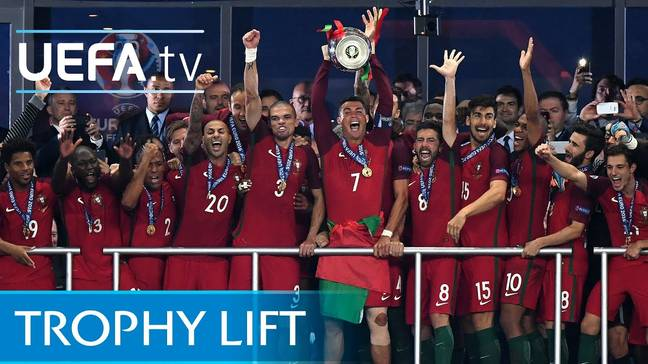 Portugal won the European Championships in 2016 after beating France 1-0 in the final