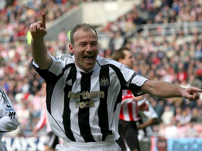 Shearer scored 260 times in the Premier League. Image: PA Images
