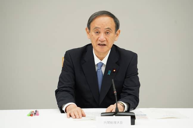 Japanese Prime Minister Yoshihide Suga (Credit: Twitter/sugawitter)