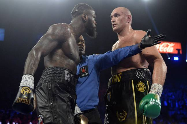 Tyson Fury's proposed trilogy bout with Deontay Wilder looks like it's over. Credit: PA