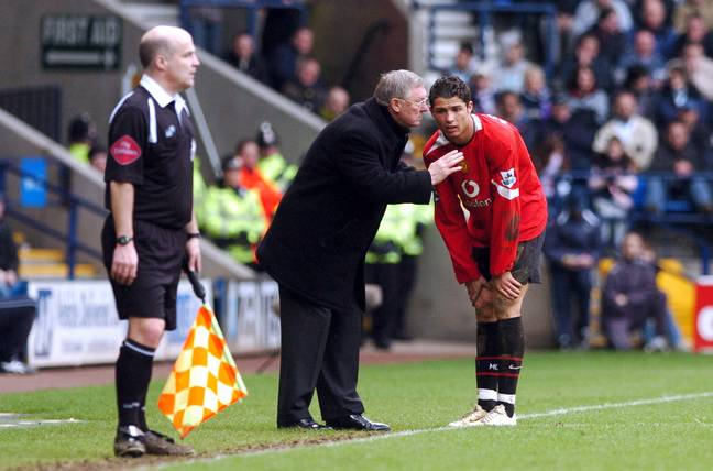 Ronaldo and Fergie had a great relationship. Image: PA Images