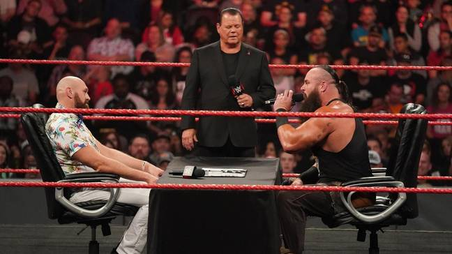 Fury faces Strowman on Raw. Image: PA Images