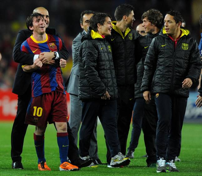 A Messi and Guardiola reunion is expected. Image: PA Images