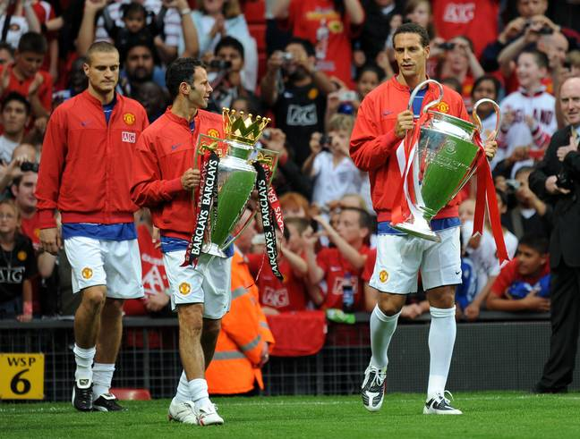 Giggs only won the Champions League twice. Image: PA Images
