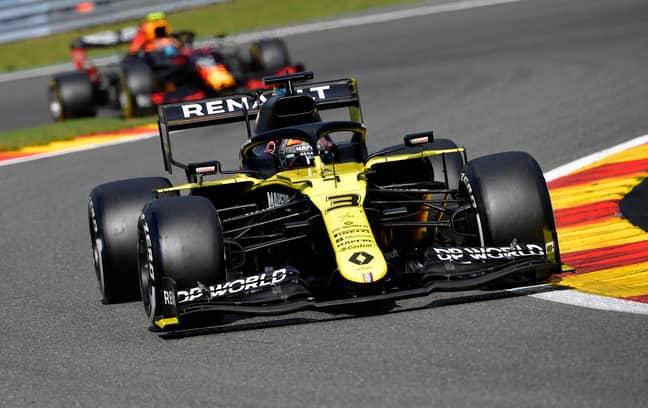 Daniel Ricciardo in action. Credit: PA