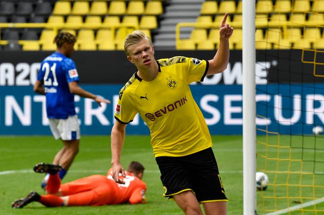Erling Haaland has done the business for RB Salzburg and Borussia Dortmund this campaign. (Image Credit: PA)
