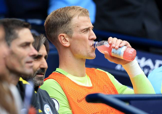 Hart hasn't played a single minute in the league this season. Image: PA Images