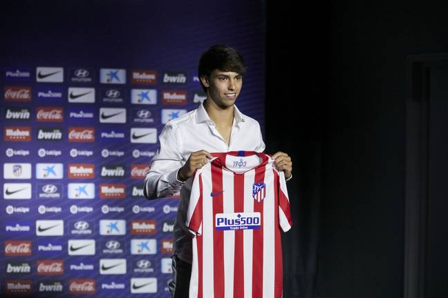 Griezmann out and Felix in for Atleti. Image: PA Images