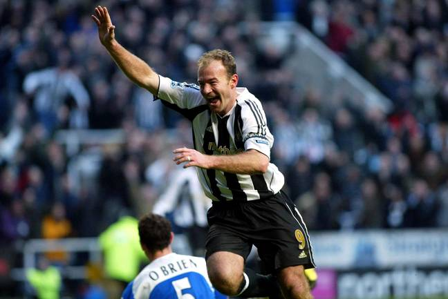 Shearer's armed raised celebration became iconic due to how often fans saw it. Image: PA Images