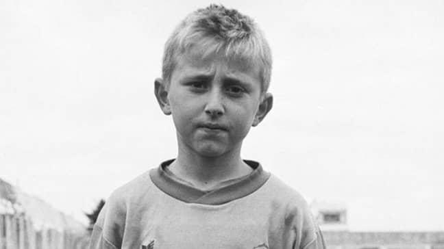 Luka Modric as a kid.