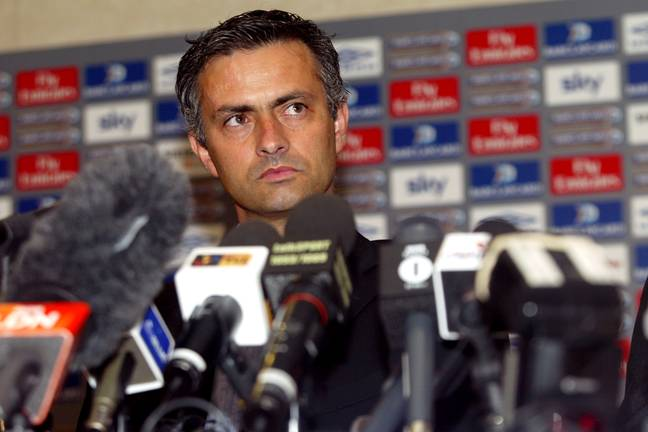 Mourinho declared himself as the 'Special One' in his first press conference. Image: PA Images