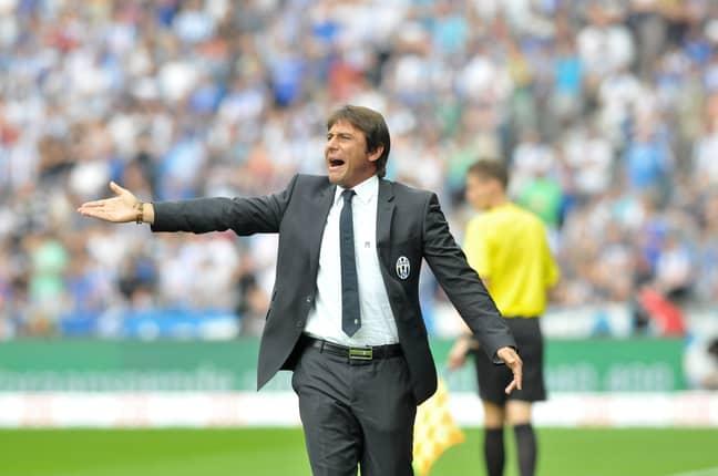 Conte as Juventus manager. Image: PA