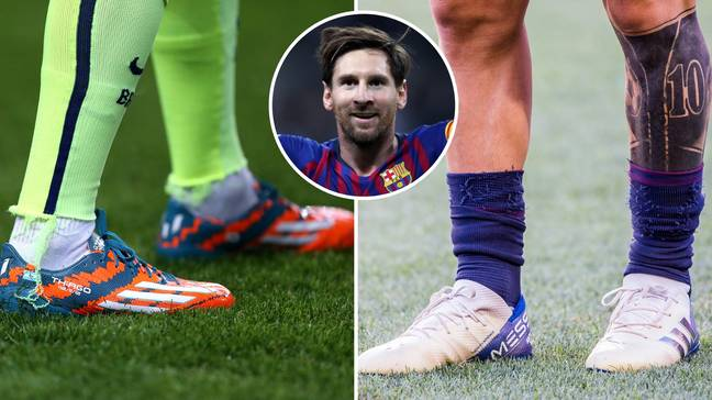 Just like Rooney, Lionel Messi has worn some amazing football boots. Credit: PA