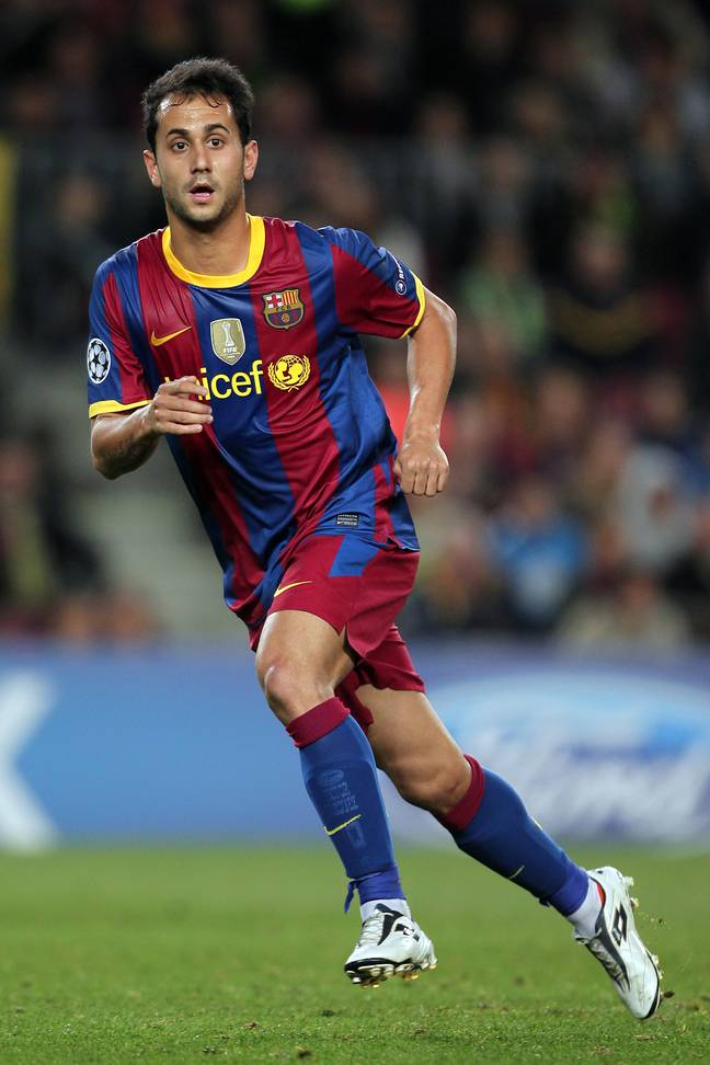 Vazquez in action for Barcelona. (Image Credit: PA)