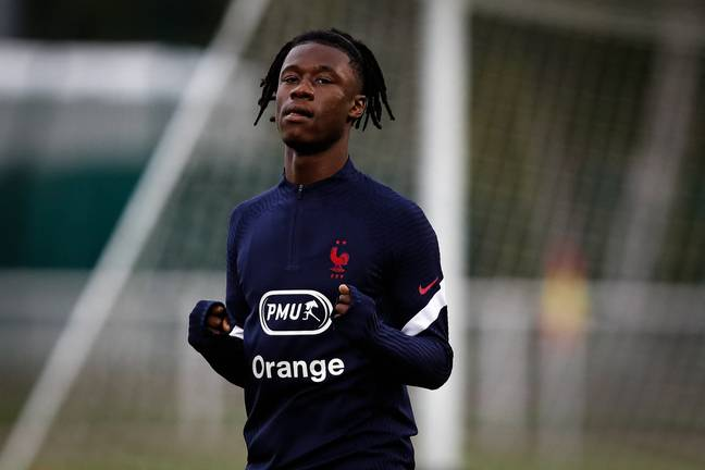 Camavinga could be a replacement for France teammate Pogba. Image: PA Images