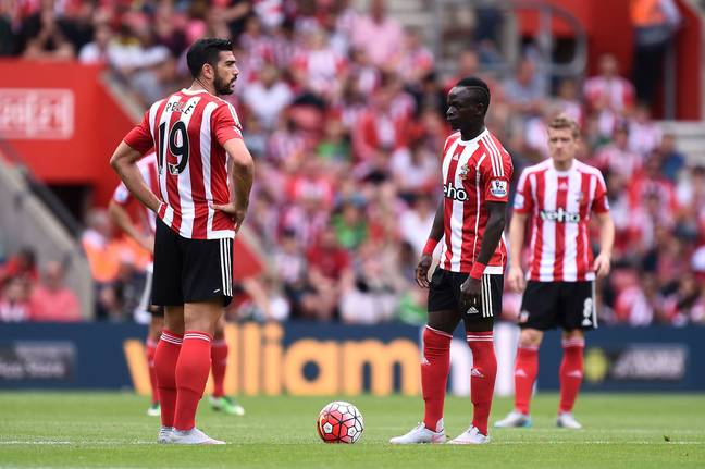 This was quite the strikeforce for Southampton. Image: PA Images